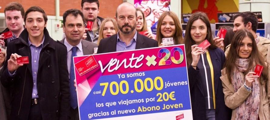 La rebaja en el abono joven por 20 Euros hasta los 26 años beneficia ya a 13.397 jóvenes de Leganés.