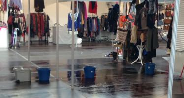 Leganés se queda sin la Feria Outlet. «De las goteras a nada»