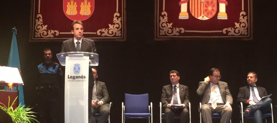 Discurso de Miguel Ángel Recuenco en el acto de homenaje a la Constitución