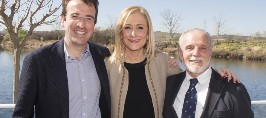 Cristina Cifuentes gana en Leganes las elecciones a la Presidencia del PP de Madrid