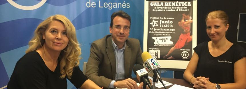 El Partido Popular colabora en la gala benéfica a favor de la Asociación Española contra el Cáncer