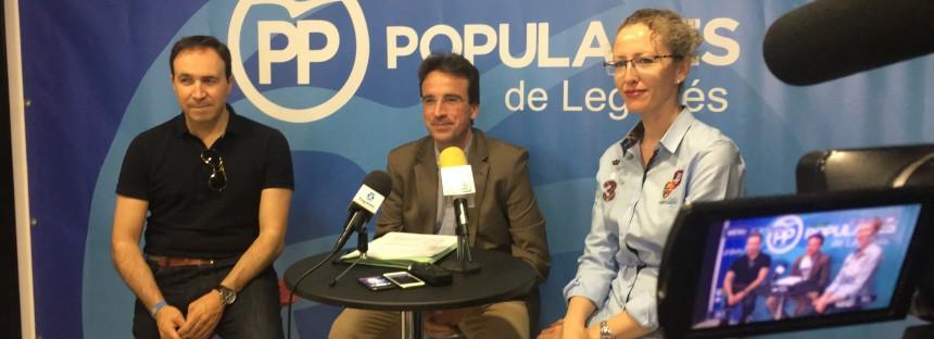 Iniciativas del PP al pleno por una mayor seguridad y por el reconocimiento a las victimas del terrorismo personificado en Miguel Angel Blanco