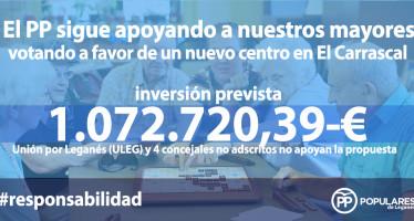El PP ratifica su compromiso con los mayores y con el fomento del empleo