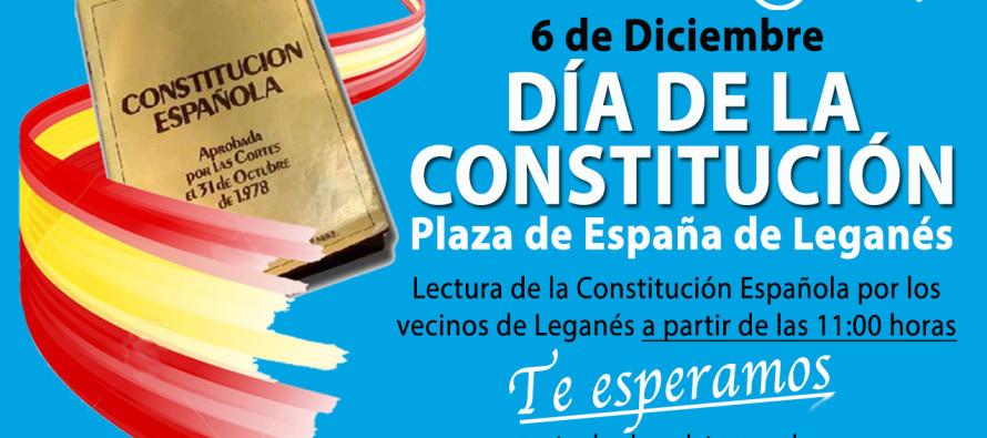 El Partido Popular celebra el día de la Constitución con todos los vecinos