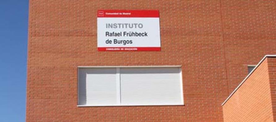 La dejadez del Alcalde socialista, Santiago Llorente, retrasa la  ampliación del instituto Rafael Frübeck de Burgos en Arroyo Culebro.