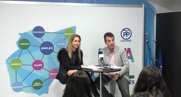 Éxito de participación en el acto de la Ruta Social del Partido Popular de Leganés, Mujer: presente y futuro laboral