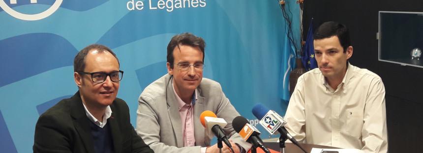 El Partido Popular propone la realización de un plan de asfaltado para ayudar a solucionar los problemas de tráfico en Leganés