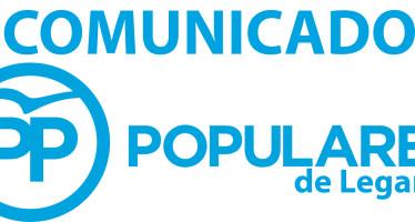 Comunicado oficial del Partido Popular de Leganés en relación con las modificaciones presupuestarias