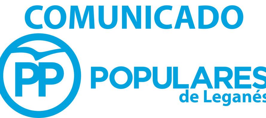 COMUNICADO – El Partido Popular exige al portavoz de ULEG disculpas públicas por haber insultado a casi 30.000 vecinos de Leganés