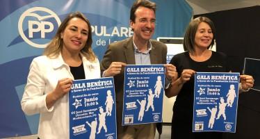 Gala benéfica  a favor de la  Fundación Esfera con la colaboración del Partido Popular de Leganes