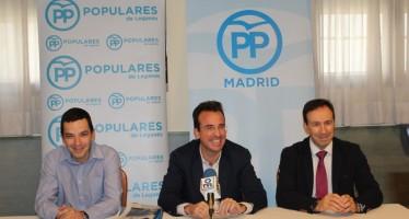 El PP de Leganés ha iniciado su campaña 'Leganés: tu Barrio, tu Ciudad' en Vereda de los Estudiantes