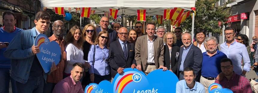 Éxito sin precedentes del Partido Popular en la campaña #LaBanderaQueNosUne