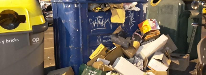 Al alcalde se le da muy bien engañar a sus vecinos pero no mantener limpio Leganés