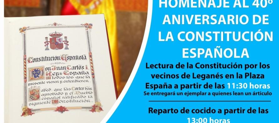 El Partido Popular celebra públicamente y con orgullo el cuarenta aniversario de la Constitución Española