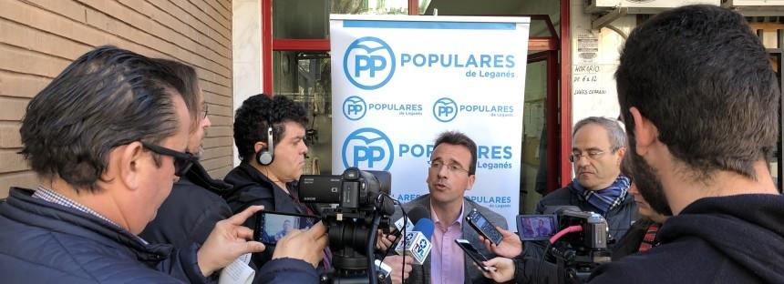 El Partido Popular de Leganés exigirá al gobierno socialista a que  desarrolle de una estrategia integral de atención a las personas sin hogar