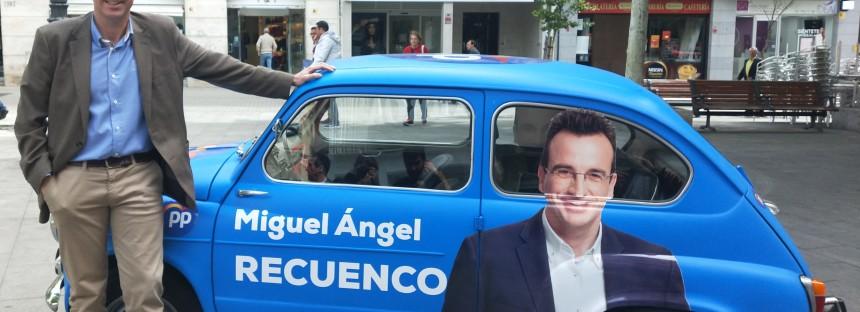 'Leganés para todos' será el lema de campaña de Recuenco
