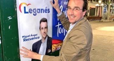 """Recuenco: """"Tengo el mejor proyecto para todos los vecinos Leganés"""""""