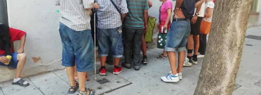 El Gobierno socialista-'errejonista' de Leganés deja a un centenar de 'sin techo' sin medios para asearse y lavar su ropa