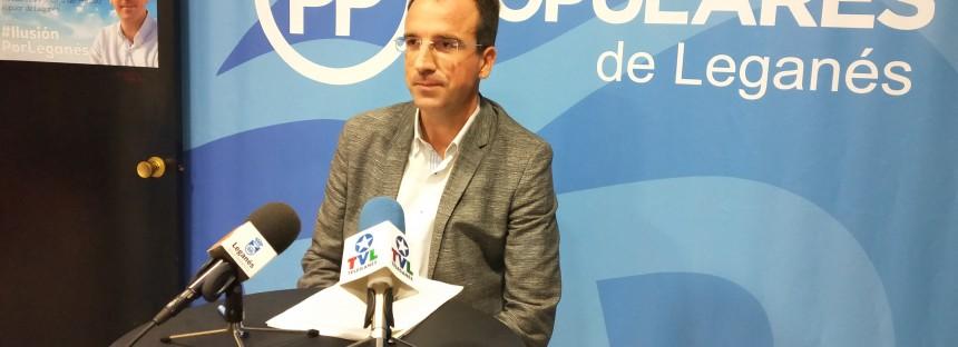 El PP demuestra su defensa del interés general de Leganés frente a la dejadez del socialista Llorente