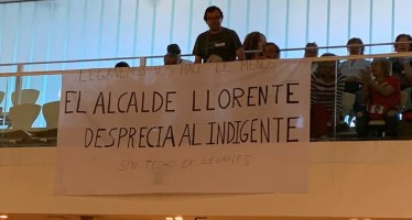 PSOE, Leganemos y Ciudadanos impiden reabrir el alberge para personas sin hogar
