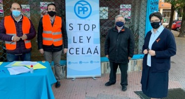 El PP de Leganés inicia una recogida de firmas en contra de la ley Celaá